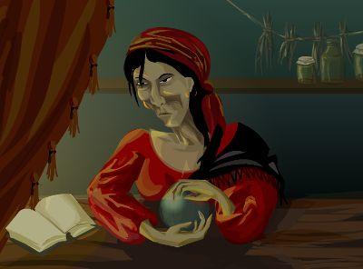 On-line гадание Книга Ведьм